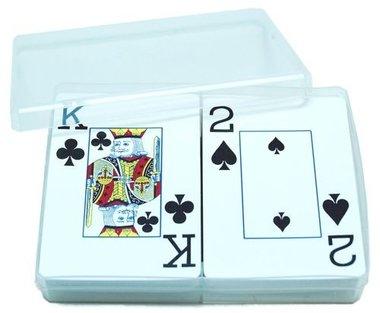 Speelkaarten Doos Transparant (Leeg)