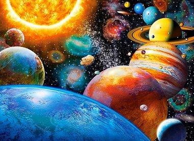 Manen & Planeten - Puzzel (300)
