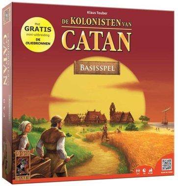 De Kolonisten van Catan (incl. uitbreiding Oliebronnen)