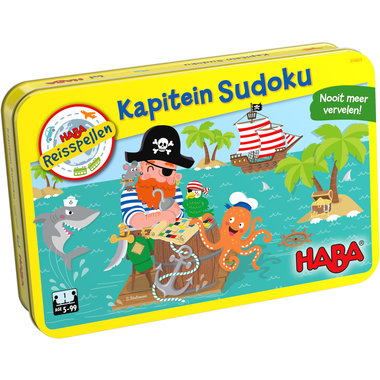 Kapitein Sudoku (5+)
