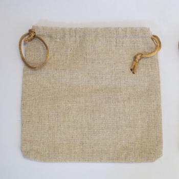 Flax Dice Bag (15x15cm)