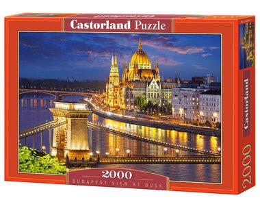 Budapest, uitzicht bij zonsondergang - Puzzel (2000)