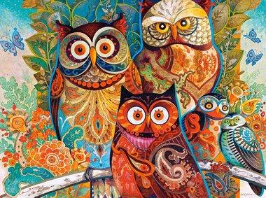 Owls - Puzzel (2000)