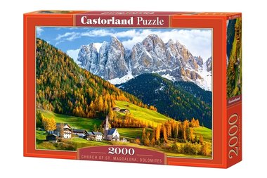 Church of St. Magdalena, Dolomites - Puzzel (2000)