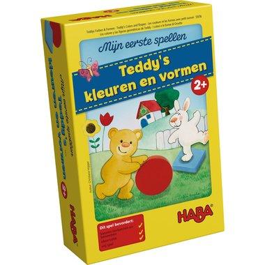 Mijn Eerste Spellen: Teddy's Kleuren en Vormen (2+)