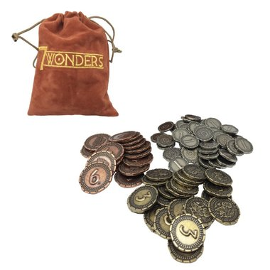 7 Wonders: Metal Coins