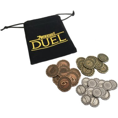 7 Wonders Duel: Metal Coins