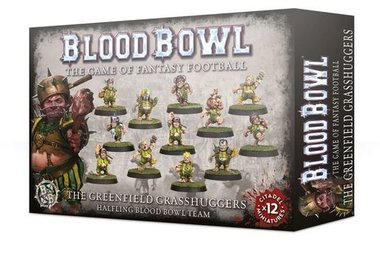Blood Bowl: The Greenfield Grasshuggers (Halfling Blood Bowl Team)