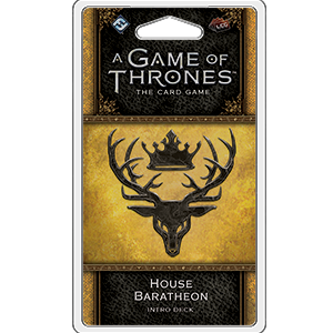 A Game of Thrones: The Card Game (Second Edition) - House Baratheon Intro Deck