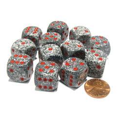 Dobbelsteen Granite Speckled - D6 - 16mm
