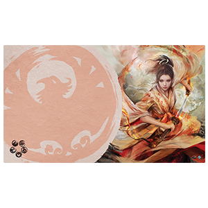 Legend of the Five Rings: The Card Game - The Soul of Shiba Playmat