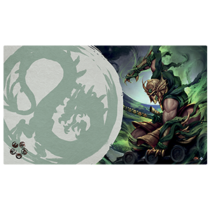 Legend of the Five Rings: The Card Game - Master of the High House of Light Playmat