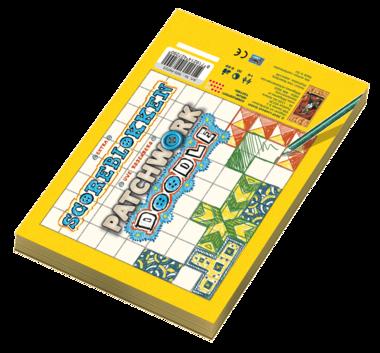 Patchwork Doodle: Extra Scoreblokken