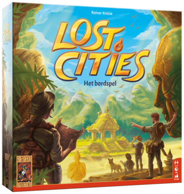 PRE-ORDER: Lost Cities: Het Bordspel