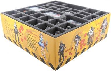 Zombicide Core Game: Foam Tray Set (Feldherr)