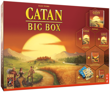 De Kolonisten van Catan: Big Box (2019)