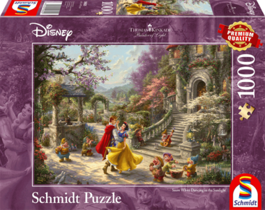Snow White Dancing in the Sunlight - Puzzel (1000)