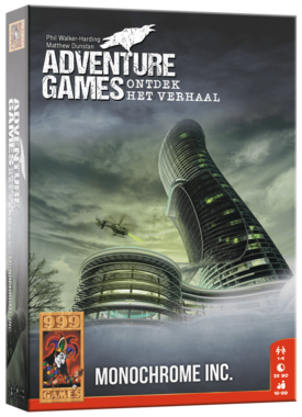 PRE-ORDER: Adventure Games: Monochrome Inc.