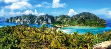 Ko Phi Phi Island, Thailand  - Puzzel (600)