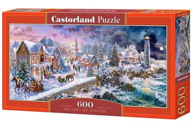 Holiday at Seaside - Puzzel (600)