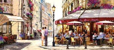Lovers in Paris - Puzzel (600)