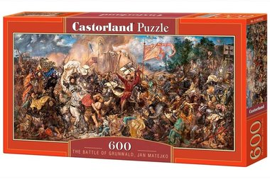 The Battle of Grunwald, Jan Matejko - Puzzel (600)