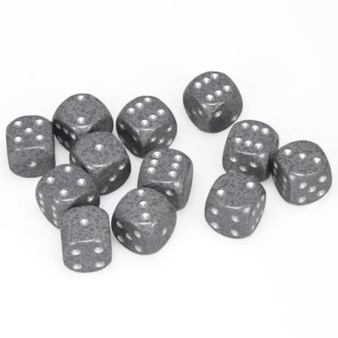 Dobbelsteen Hi-Tech Speckled - D6 - 16mm