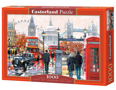 Copy of London Collage - Puzzel (1000)