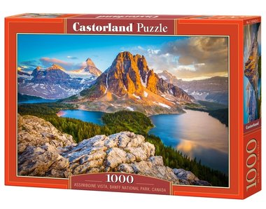Assiboine Vista, Banaff National Park, Canada - Puzzel (1000)
