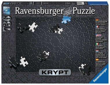 KRYPT Puzzel: Black - Puzzel (736)