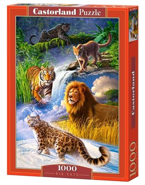 Big Cats - Puzzel (1000)