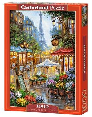 Spring Flowers, Paris - Puzzel (1000)
