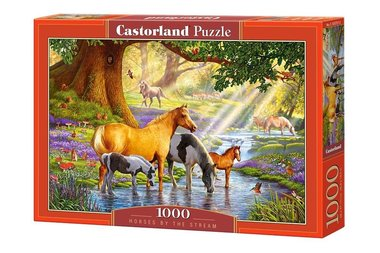 Horses by the Stream - Puzzel (1000)