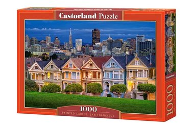 Painted Ladies, San Francisco - Puzzel (1000)