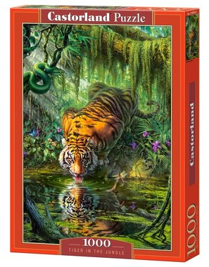 Tiger in the Jungle - Puzzel (1000)