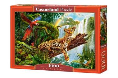 Resting Leopard - Puzzel (1000)