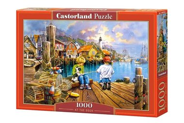 At the Dock - Puzzel (1000)