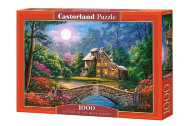 Cottage in the Moon Garden - Puzzel (1000)