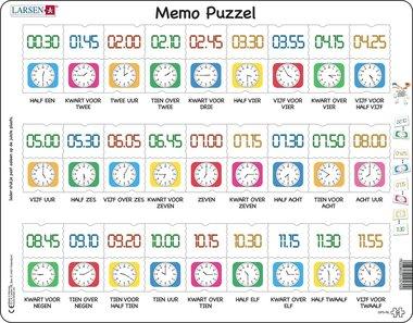 Puzzel LARSEN: Kloklezen (54)
