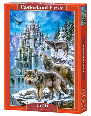 Wolves and Castle - Puzzel (1500)