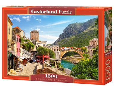 The old town of Mostar - Puzzel (1500)