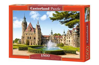 Moszna Castle, Poland - Puzzel (1500)