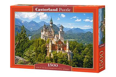 View of the Neuschwanstein Castle, Germany - Puzzel (1500)