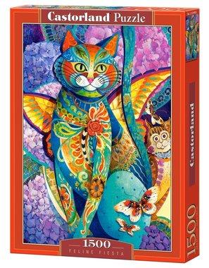 Feline Fiesta - Puzzel (1500)