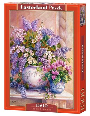 Lilac Flowers - Puzzel (1500)
