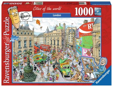 Fleroux: Londen, Cities of the World - Puzzel (1000)