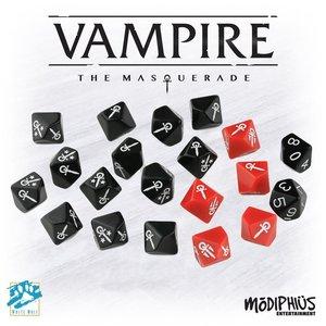 Vampire: The Masquerade (5th Edition) - Dice Set