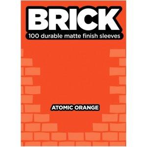Legion Brick Sleeves (67x92mm) - Atomic Orange (100 stuks)
