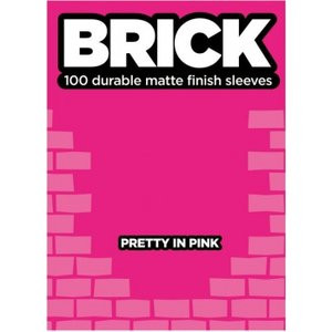 Legion Brick Sleeves (67x92mm) - Pretty in Pink (100 stuks)