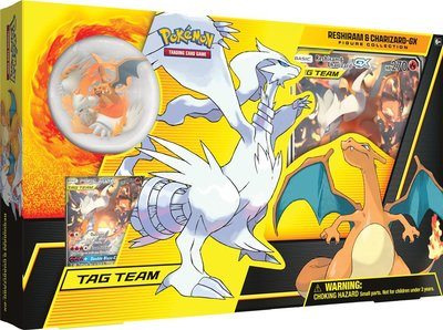 Pokémon: Reshiram & Charizard GX Figure Collection